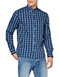 Lee Slim Button Down Camisa, Azul (Frost Blue MJ), Medium para Hombre