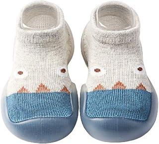 snake cat, Calcetines antideslizantes para bebé para caminar, calcetines delgados para niños (gris claro, 12-18 m)