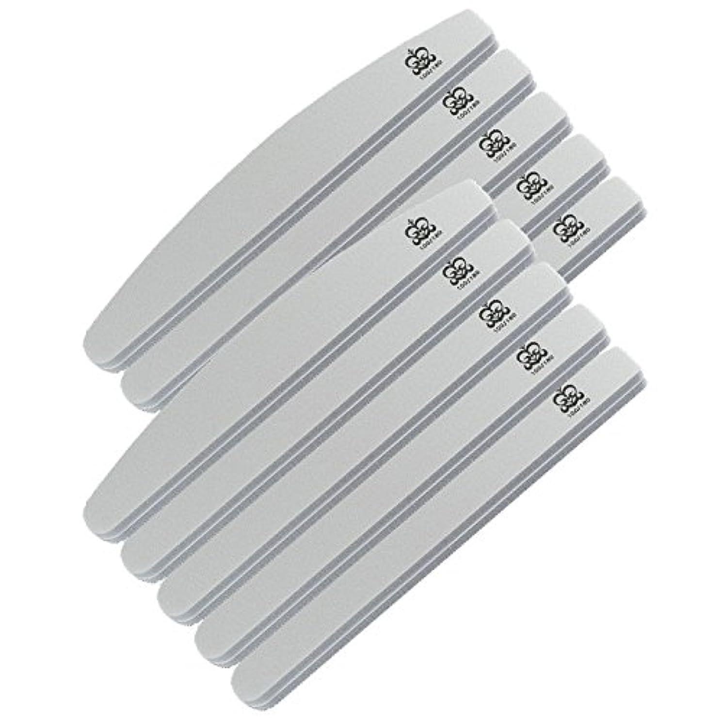 レディグリル練習ミクレア(MICREA) ミクレア プロフェッショナルスポンジファイル バリューパック ムーン型 100/180 10本入