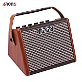 Mainstayae AG-15A 15W Portable Acoustic Guitar Amplifier Amp BT Speaker Built-in Rechargeable Battery