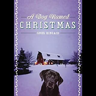 A Dog Named Christmas audiobook cover art
