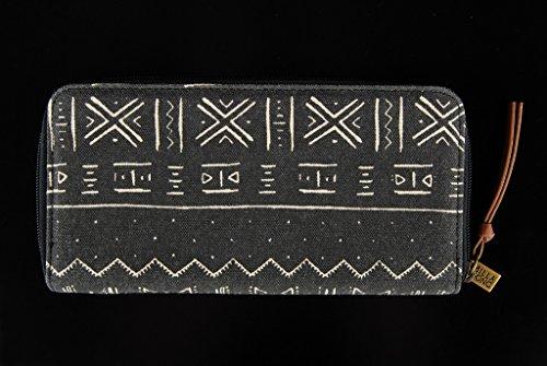 BILLABONG Herren Geldbeutel Personal Wandering, Off Black, 11 x 2 x 21 cm