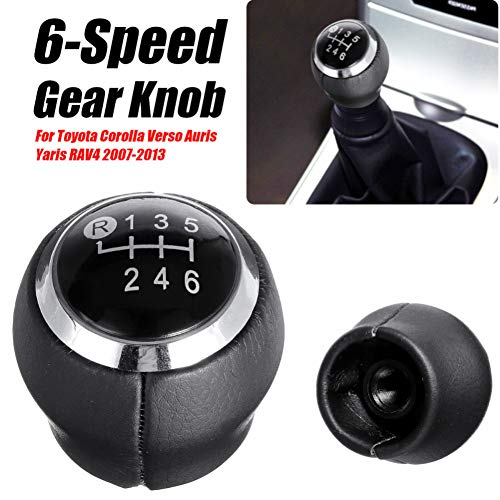 Auto 5 6 Speed Hever Gear Stick Shift knop kop, Voor Toyota Corolla Verso Auris Yaris RAV4 2007-2013