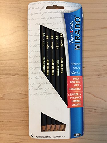Paper Mate Mirado Black Warrior Pencil No. 2, 8 Count