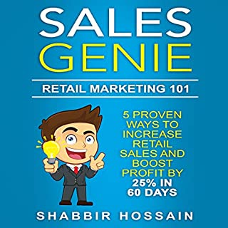 Sales Genie: Retail Marketing 101 audiobook cover art