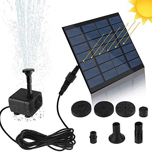 Mini Solar fonteinpomp Solar waterpomp Solar waterpomp 1,4 W vogelbad dompelpomp zonder bezem voor watercirculatie