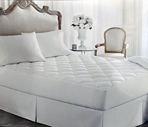 Lauren Ralph Lauren Bronze Comfort Down Alternative Luxloft Mattress Pad Full / Matrimonial White