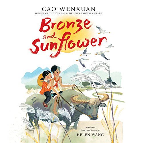 Bronze and Sunflower audiobook cover art