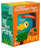Mollybee Kids Outdoor Toddler Scavenger Hunt Cards at The Park