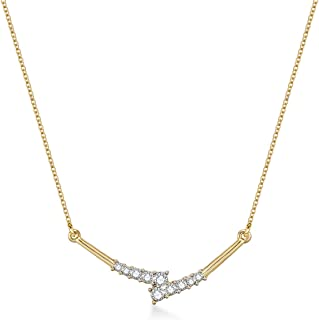 Mestige Casual & Trendy Chains for Women, Gold Plated, Geometric