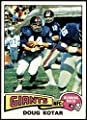 1975 Topps # 516 Doug Kotar New York Giants-FB (Football Card) EX/MT+ Giants-FB Kentucky