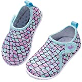 JIASUQI Baby Kids Athletic Sneakers Barefoot Water Shoes for...