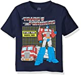 Transformers Boys' Toddler Graphic Short Sleeve T-Shirt, Navy, 5T