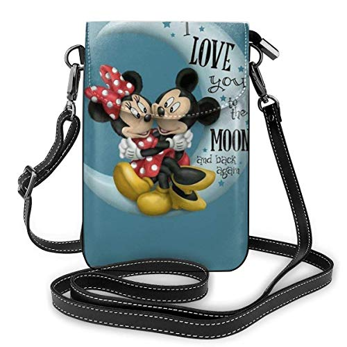 XCNGG Tinkerbell And Fairy Cell Phone Purse Shoulder Bag Travel Daypack Women Girls Party Gift