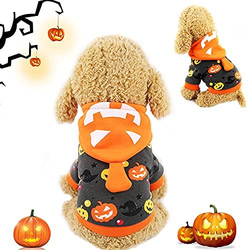 Ropa de Perro Halloween, Disfraz De Mascota De Halloween, Traje de Perro de Calabaza Naranja, Perros Disfraces de Cosplay, Disfraz de Pelota para Fiestas (Disfraz De Calabaza para Perro, XL)
