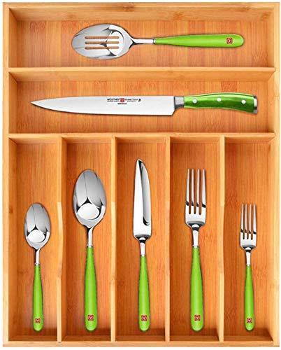 (10% OFF) Bamboo Kitchen Drawer Organizer $22.47 – Coupon Code