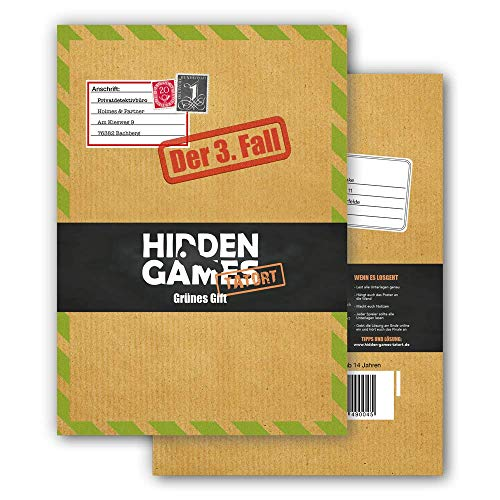 Hidden Games Tatort Krimispiel Fall 3 - Grünes Gift - Escape Room Spiel