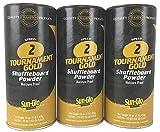 3 Pack Sun-Glo #2 Speed Shuffleboard Powder Wax