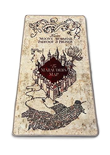 Groovy Harry Potter - Alfombra de interior Mapa del Merodeador 76x133 cm
