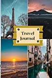 Travel Journal refillable to write in all stories and memories. Lined journal notebook size 6x9 Diary for traveler