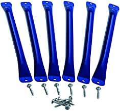 CREATIVE CEDAR DESIGNS Monkey Bars (6 Pack) - Blue, One Size