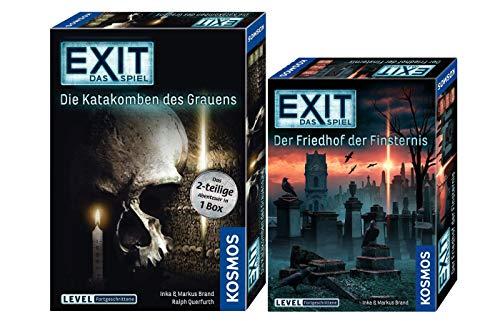 EXIT - Das Spiel: Der Friedhof der Finsternis Spiel: Die Katakomben des Grauens (Level: Fortgeschrittene)
