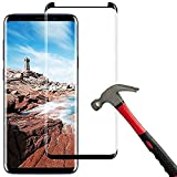 Compatible with Galaxy S9 Plus Screen Protector Tempered Glass, [Anti-Fingerprint][Protective Shell][No Bubbles] Compatible with Samsung Galaxy S9 Plus Glass Screen Protector [2 Pieces]