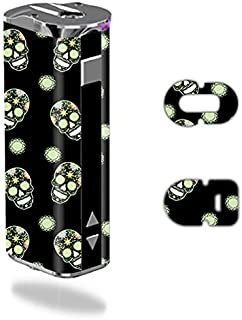 MightySkins Skin Compatible with Eleaf iStick 30W – Nighttime Skulls | Protective, Durable, and Unique Vinyl Decal wrap Cover | Easy to Apply, Remove, and Change Styles | Made in The USA