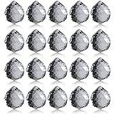 Neewer 40mm Boule de Cristal Clair Prism Pendentif Capteur de Soliel pour Feng Shui / Divination ou de Décoration de Mariage / Maison / Bureau (Jeu de 10)