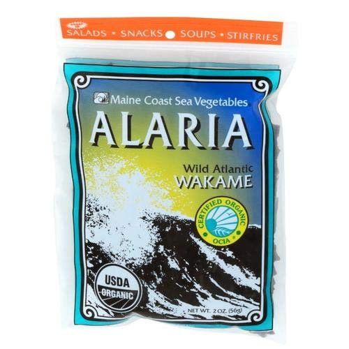 "Alaria Whole Leaf 2 oz Bag -""Wild Atlantic Wakame"" - Organic"