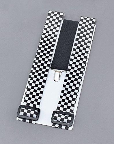 Police Lady Braces/Black & White