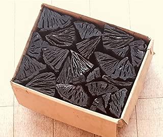 しらおい木炭2kg(ナラ)切り・約6cm 無煙無臭の硬質黒炭。北海道産・国産、BBQ炭