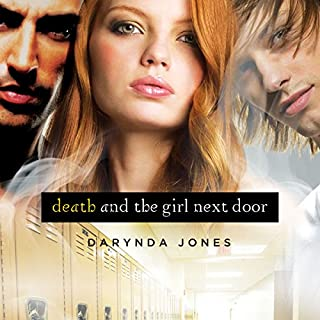 Death and the Girl Next Door                   By:                                                                                                                                 Darynda Jones                               Narrated by:                                                                                                                                 Lorelei King                      Length: 7 hrs and 48 mins     856 ratings     Overall 4.1