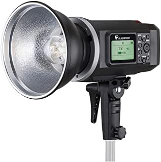 Glow EZ Lock 16x48in Quick Strip Softbox w//Bowens Mount Godox AD400 Pro Flashpoint XPLOR 400PRO TTL Battery-Powered Monolight with Built-in R2 2.4GHz Radio Remote System with Bowens Mount Adapter