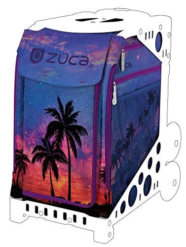 ZUCA Island Life - Bolsa deportiva (sólo bolsa) - Hermoso diseño de atardecer y palmeras