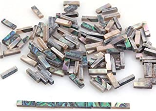 Abalone Binding Inlay Strips for Guitar Mandolin Maker 1.5mm x 2mm x 7mm (Pack of 60)