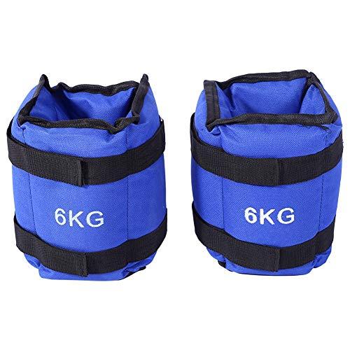 Greensen Kit de Pesas para Tobillos Pesas para Levantamiento de Pesas para Tobillos 1 par de Pesas Ajustables para Tobillos y muñecas para Correr Fitness, Gimnasio, Entrenamiento, 1,5 kg x 2