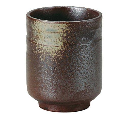 宗峰窯 湯のみ 備前 大 φ7.5×9.3cm 491-20-253