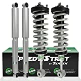 SENSEN 10012-SH Front Rear Left Right Complete Strut Assembly Shocks Compatible/Replacement for 2004-2008 Ford F-150 RWD
