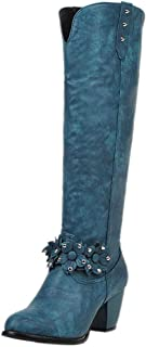 RAZAMAZA Women Classic Western Boots