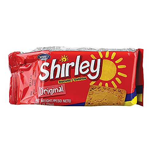 Wibisco Shirley Biscuits Original (4 Packs of 3.7oz Each)