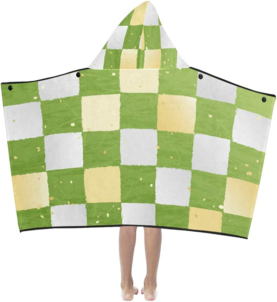 half Boys Bath Towel Summer Max 71% OFF Beautiful Matcha Pastry Hoode Drinks Kids