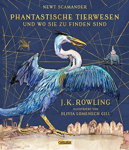 Phantastische Tierwesen und wo sie zu finden sind (farbig illustrierte Schmuckausgabe): Ein magischer Begleitband zur Harry-Potter-Serie