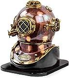 Nagina International Vintage Marine Divers Helmet Solid Steel & Brass...