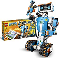 LEGO 17101 Boost Creative Toolbox Robotics Kit, 5 in 1 App Controlled Building Model with Programmable Interactive Robot...