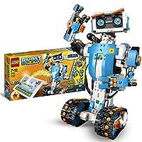 LEGO 17101 Boost Programmierbares Roboticset, 5-in-1 App-gesteuertes Baumodell mit einem programmierbaren, interkativen Roboter-Spielzeug und Bluetooth Hub, Programmierset für Kinder