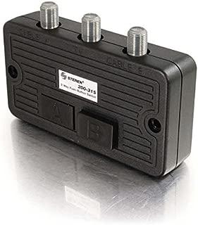 STEREN 200-3152-Way Coaxial A/B Push-Button Switch