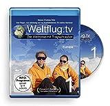Blu-ray Weltflug.tv 1 - Europa: Vom Fliegen, vom Jakobsweg und von Kindheitsträumen. Ein wahres Abenteuer. - cross-frontier GmbH