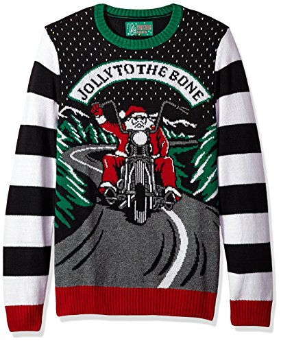 Jolly to The Bone Men's Ugly Christmas Sweater
