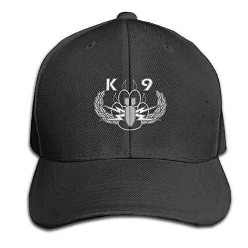 FJE&EDMA Explosives Detection K9 Simple Peaked Cap Woman Mens Casual Hat